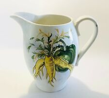 More details for hand painted jug italy by mancioli 59 serving tableware