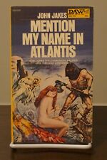 Mention My Name in Atlantis by John Jakes PB 1972