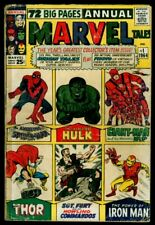 MARVEL Tales #1 Amazing Fantasy #15 Hulk #1 JIM #83 TOS #39  TTA #35 49 G+ 2.5