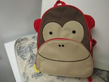 Skip & Hop Brand Monkey Face Childrens Backpack New Without Tags