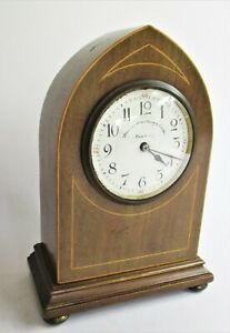Lovely Art Nouveau Lancet Mantle Clock. 1910. Thomas Armstrong of Manchester