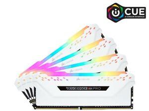 Corsair CMW64GX4M4C3200C16 Vengeance Pro 64GB DDR4 3200MHz Samsung B-Die White