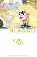 Ms Marvel Civil War Captain Marvel New Marvel Comics TPB Trade Paperback