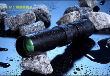 90x 3000m HD Full Metal Portable Waterproof Telescopic Monocular Telescope