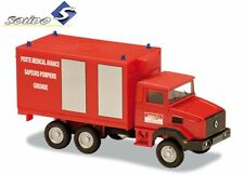 RENAULT 180 MEDICAL 1998- 1:50 FRENCH FIREFIGHTER SOLIDO DIECAST MODEL CAR