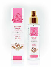 ALL NATURAL Bulgarian Rose Damask Water face skin moisturizer lotion 100ml SPRAY