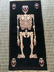 Tibetan skeleton Rug