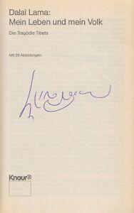 DALAI LAMA --- original signiert - L1b#63