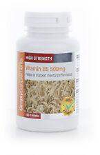 Vitamin B5 (Pantothenic Acid) 500mg 180 Tablets | Stress, Energy, Skin, Fatigue