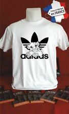 t-shirt personnalisé ADIDAS SIMBA LE ROI LION cadeau tee shirt K041