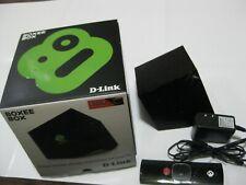 D-Link Boxee Box Digital HD Media Streamer DSM-380, complete