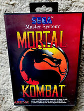Sega Mega Drive/ Master System Spiel - Mortal Kombat + OVP