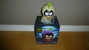 """Kidrobot South Park 7"""" Figure - Mysterion Glow In The Dark - Complete In Box"""