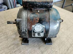 """Vintage Walker Turner 6"""" Jointer 1/2 HP Motor KAB-5E 3450 RPM 5/8"""" Shaft"""