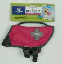 New Top Paw Pink Neoprene Reflective Dog Life Jacket Size XS X-Small 5-15 lbs