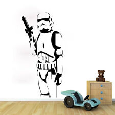 3D Star Wars Storm Trooper Wall Sticker Vinyl Decal Mural Kids Bedroom Nursery