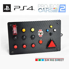 Sim Racing PlayStation 4 Project CARS 2 Control Panel 17 Functions Button Box