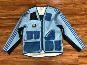 Adidas x FuckingAwesome FA Fishing Jacket Blue FT7945 Men's Size Small