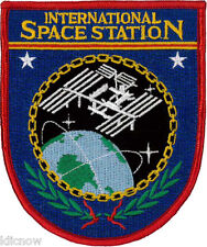 International Space Station Embroidered Patch 9cm x 11cm