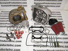 100cc Big Bore Kit Big Head 50mm Bore 139QMB High Flow Air Filter Scooter Parts