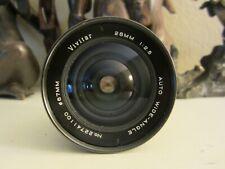Vivitar Auto Wide-Angle 28mm 1:2.5 lens for Minolta M/SR