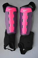 Nike Youth Charge Shinguard Black + Pink Sz. S, M, L, X-L