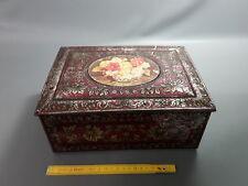Ancienne boite à gateaux en fer blanc vintage french antique cakes box