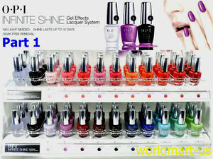 OPI Infinite Shine Polish Nail Lacquer Color Base Top Last Up To 10 Days/ Part 1