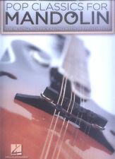 20 Pop classics for Mandolin Songbook per Mandoline tabulatur Tab Note
