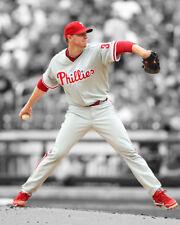 Philadelphia Phillies ROY HALLADAY Glossy 8x10 Photo Spotlight Print Poster