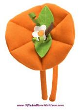 Gymboree NWT Orange HALLOWEEN SHOP FALL HEADBAND PUMPKIN HAIR ACCESSORY ~ OS