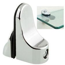 Fashion Popular Glass Plate Adjustable Bracket Holder Support Glass Shelf Metal