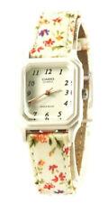 Casio Women's Analog Display White Dial Resin Watch LQ142LB-7B