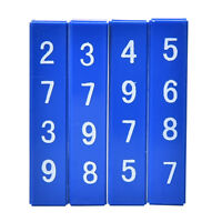 1 Satz Schnelle Berechnung Blöcke Zaubertricks Requisiten Kinder Spielzeug  ZV