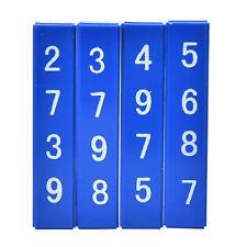 1Set Quick Calculation Blocks Magic Tricks Props Mentalism Children Kids Toys BH