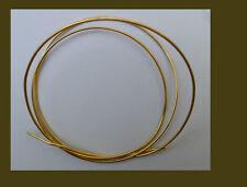 Vermeil  round wire gauge 18 for jewelry making, 2 feet