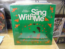 Sing With Me vinyl LP 1977 Stucky Audio Services Records Sealed [Preschool]