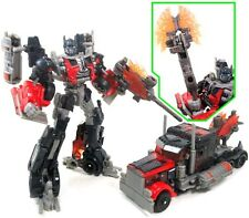 TRANSFORMERS. DARK OF THE MOON. FIREBURST OPTIMUS PRIME.  HASBRO