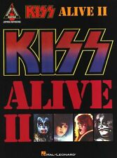Kiss Alive II Learn to Play Hard Luck Woman Guitar TAB Music Book