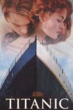 MOVIE POSTER~Titanic James Cameron Cover Lovers Winslet DiCaprio Cover Original~