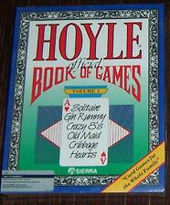 HOYLE O. BOOK OF GAMES Vol 1 By Sierra/Atari 1040ST NEW