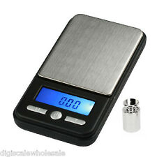 AWS AC-100 Pocket Jewelry Scale 100g x 0.01g and 100 Gram Calibration Weight