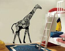 Giraffe Pattern Removable Wall Art Stickers Kids Nursery Decor Gift DIY Decal