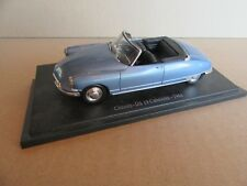 963G Atlas Citroën DS 19 Cabriolet 1961 1:43