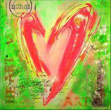 Herz  Modern Kunst Bild Wandbild Atelier Culari Art Art Nr. 463