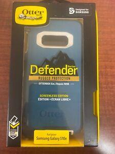 OtterBox Defender Case + Holster for Samsung Galaxy S10e - Big Sur Corsair Blue