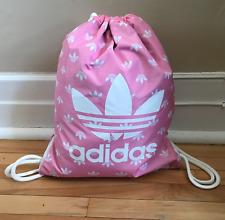 Adidas Trefoil Sackpack Gym Bag Pink One Size