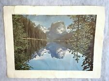 1940 Scenic Art Print of the West in Wyoming from Standard Oil Co. With sale ad