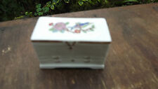 Aynsley China Pembroke Design Miniature Chest of Drawers