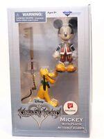 Kingdom Hearts Series 1 Mickey with Pluto Figures Diamond Select Toys NEW DISNEY